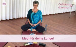 Selbstliebe lernen - Meditation für deine Lunge