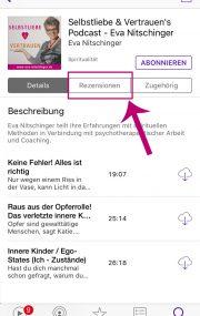 iTunes Bewertung ios