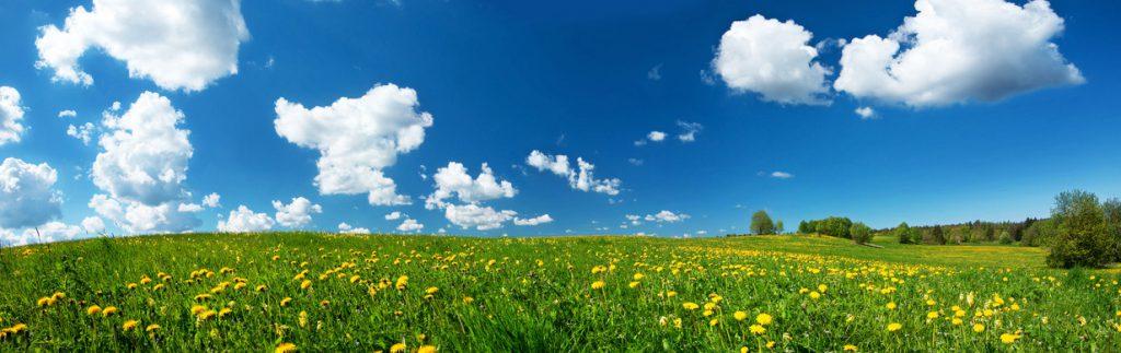 Wolken am Himmel, Gedanken im Kopf... Meditation