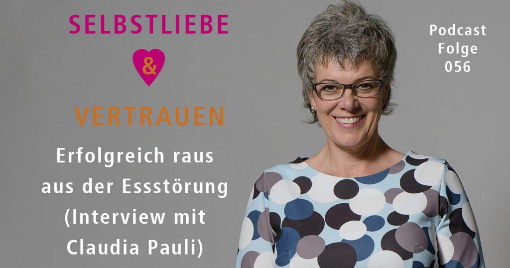 Erfolgreich raus aus der Essstörung (Interview mit Claudia Pauli)